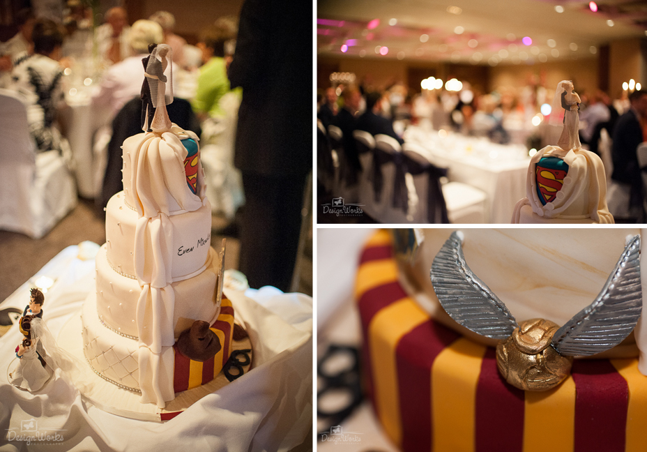 Castleknock Hotel Wedding Cake Harry Potter